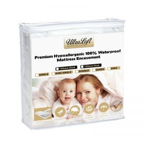 UltraLoft Premium Waterproof Foam Mattress Encasement