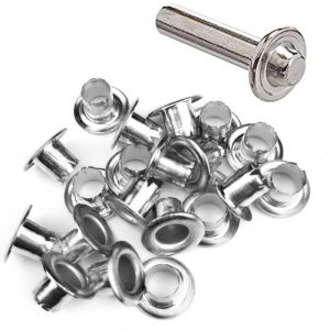 DIY Retail Eyelets 8mm SILVER + TOOL