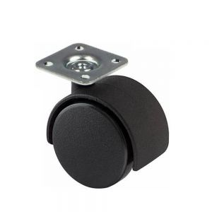 Nylon Twin Wheel Hooded Castors
