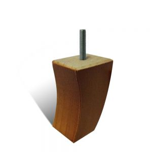 Col 95mm Polished Timber Leg