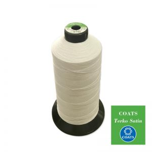 COATS Terko Satin Corespun Poly-Cotton Thread Range TERKO
